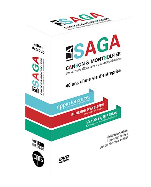 Le coffret de 3 DVD «LA SAGA CANSON ET MONFGOLFIER»